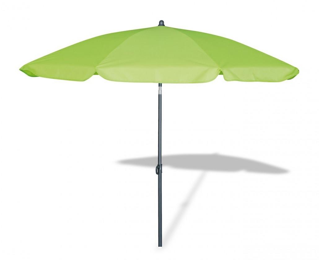 Malibu - Slunečník, 180cm (zelený)