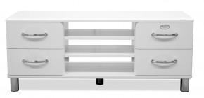 Malibu - TV stolek (bílá)