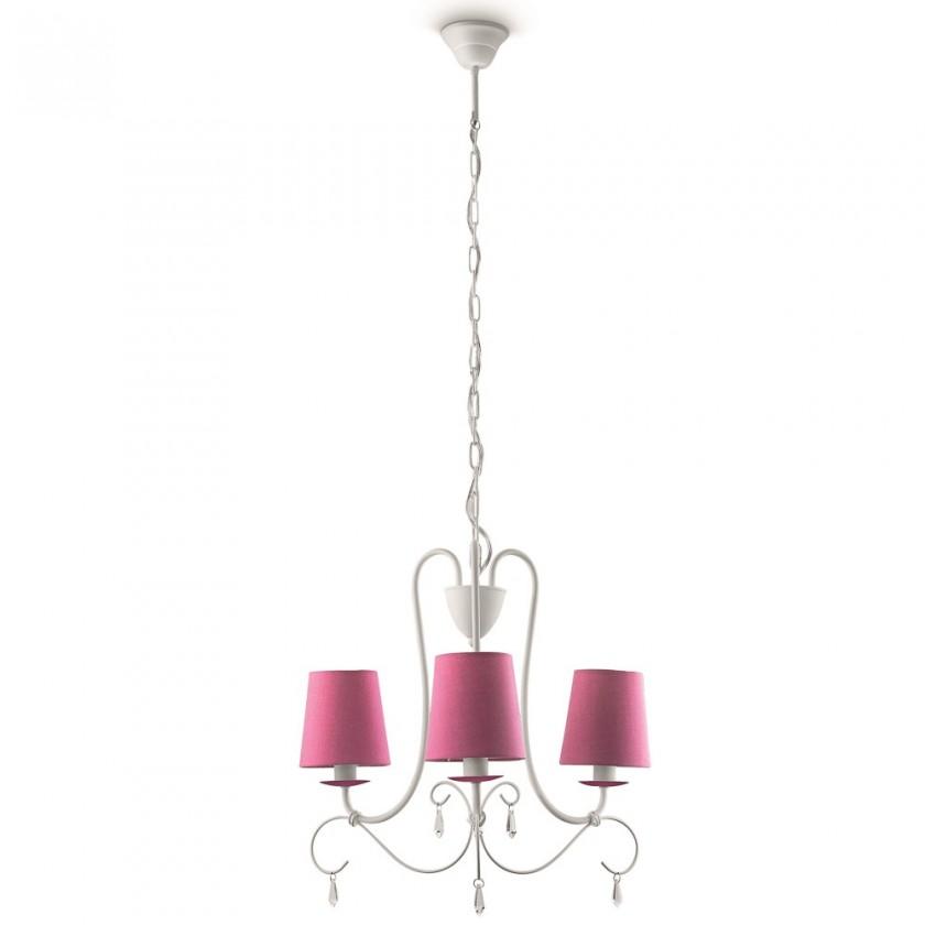 Mambo - Stropní osvětlení E 14, 46,6cm (růžová)