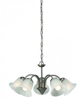 Mambo - Stropní osvětlení E 14, 55cm (matný chrom)