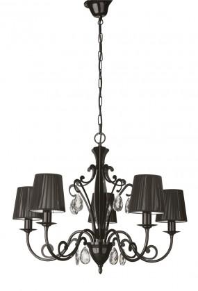 Mambo - Stropní osvětlení E 14, 66,6cm (černá)