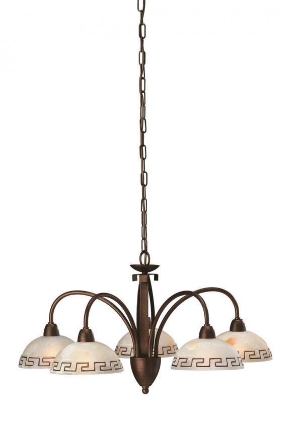 Mambo - Stropní osvětlení E 14, 67cm (matovaná hnědá)