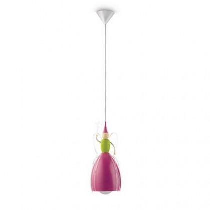 Mambo - Stropní osvětlení E 27, 18,52cm (růžová)