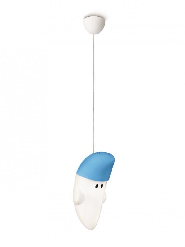 Mambo - Stropní osvětlení E 27, 18cm (modrá)