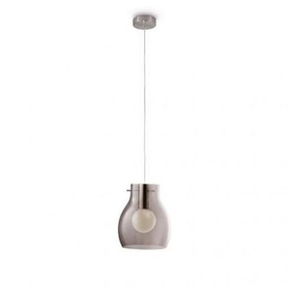 Mambo - Stropní osvětlení E 27, 23,8cm (matný chrom)