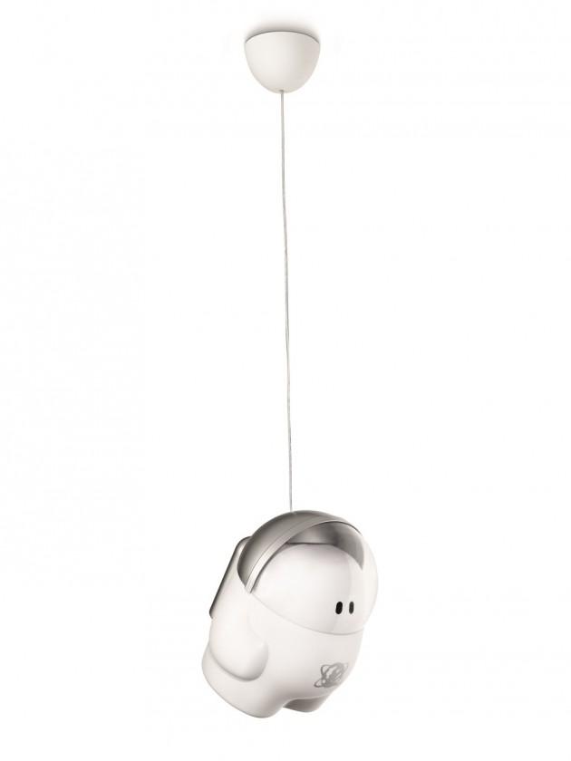 Mambo - Stropní osvětlení E 27, 24,2cm (hliník)