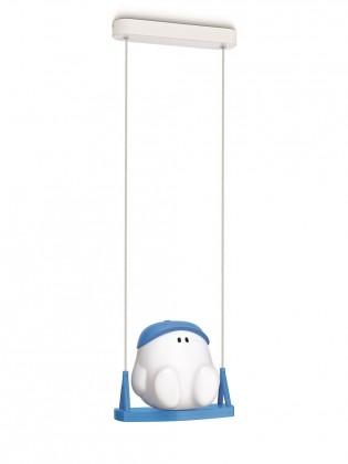 Mambo - Stropní osvětlení E 27, 24,4cm (modrá)