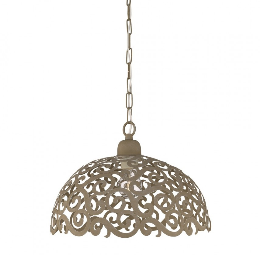 Mambo - Stropní osvětlení E 27, 34,5cm (šedá)