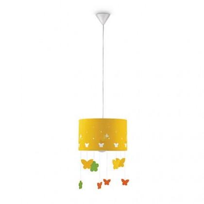 Mambo - Stropní osvětlení E 27, 35cm (žlutá)