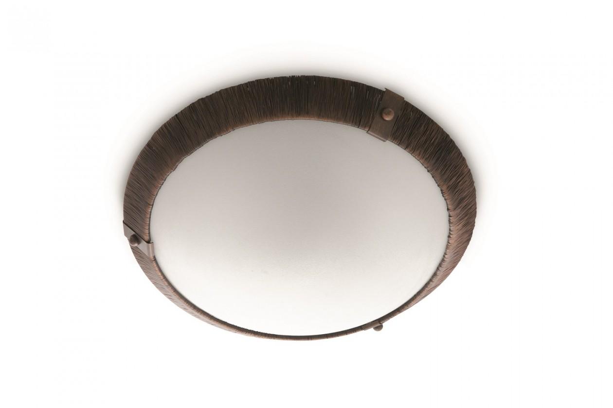 Mambo - Stropní osvětlení E 27, 36cm (hnědá)