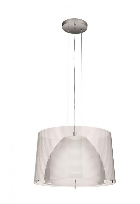 Mambo - Stropní osvětlení E 27, 40,55cm (lesklý chrom)