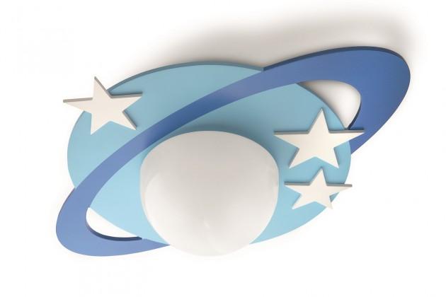 Mambo - Stropní osvětlení E 27, 47,59cm (modrá)