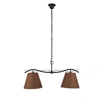 Mambo - Stropní osvětlení E 27, 78,5cm (hnědá)