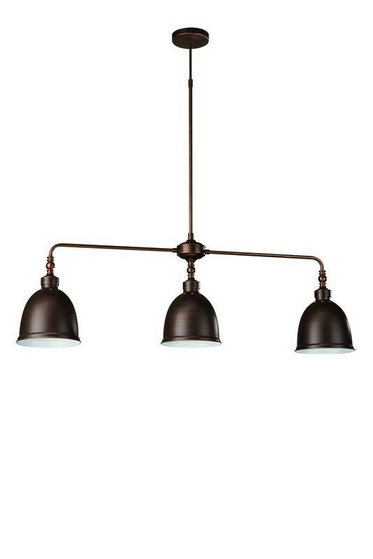 Mambo - Stropní osvětlení E 27, 97,2cm (matovaná hnědá)