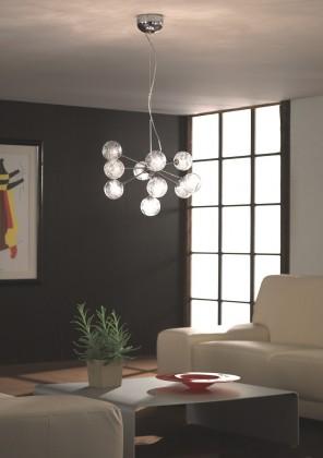 Mambo - Stropní osvětlení G4, 54cm (lesklý chrom)