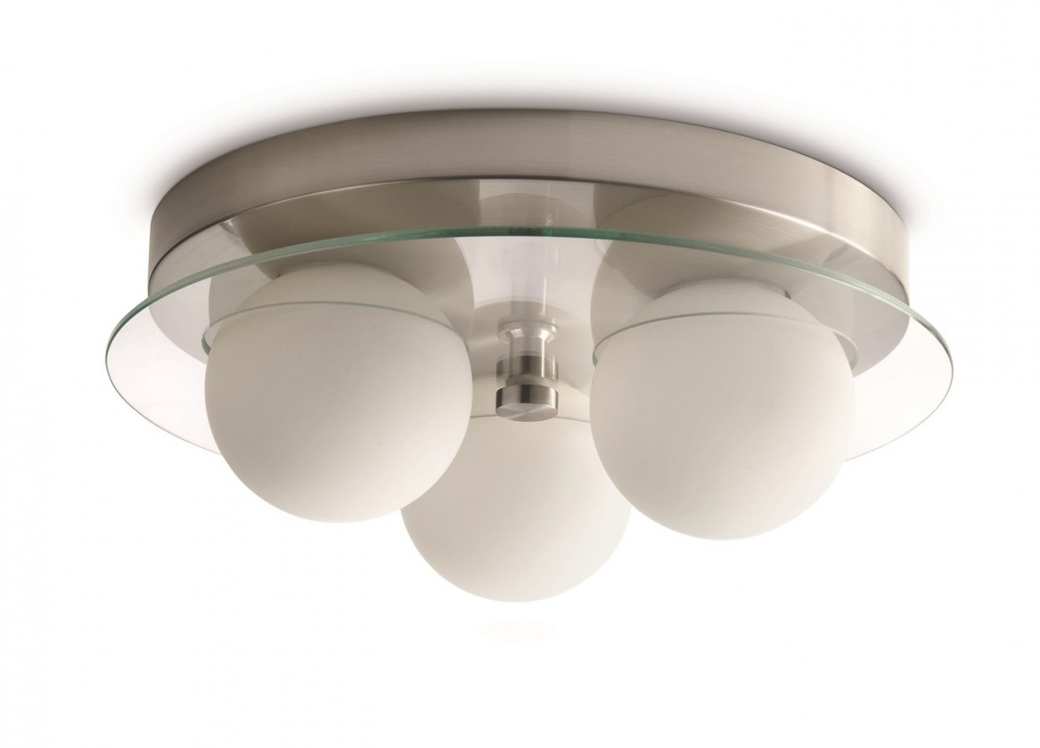 Mambo - Stropní osvětlení G9, 33cm (matný chrom)