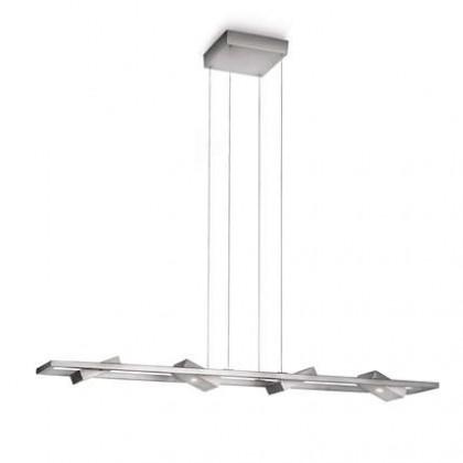 Mambo - Stropní osvětlení LED, 100x150x15 (hliník)