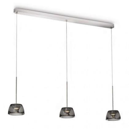 Mambo - Stropní osvětlení LED, 107cm (lesklý chrom)
