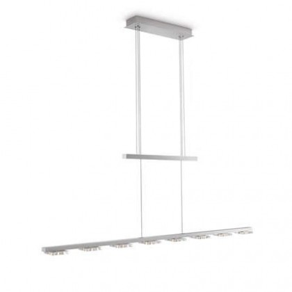 Mambo - Stropní osvětlení LED, 115,9cm (šedá)