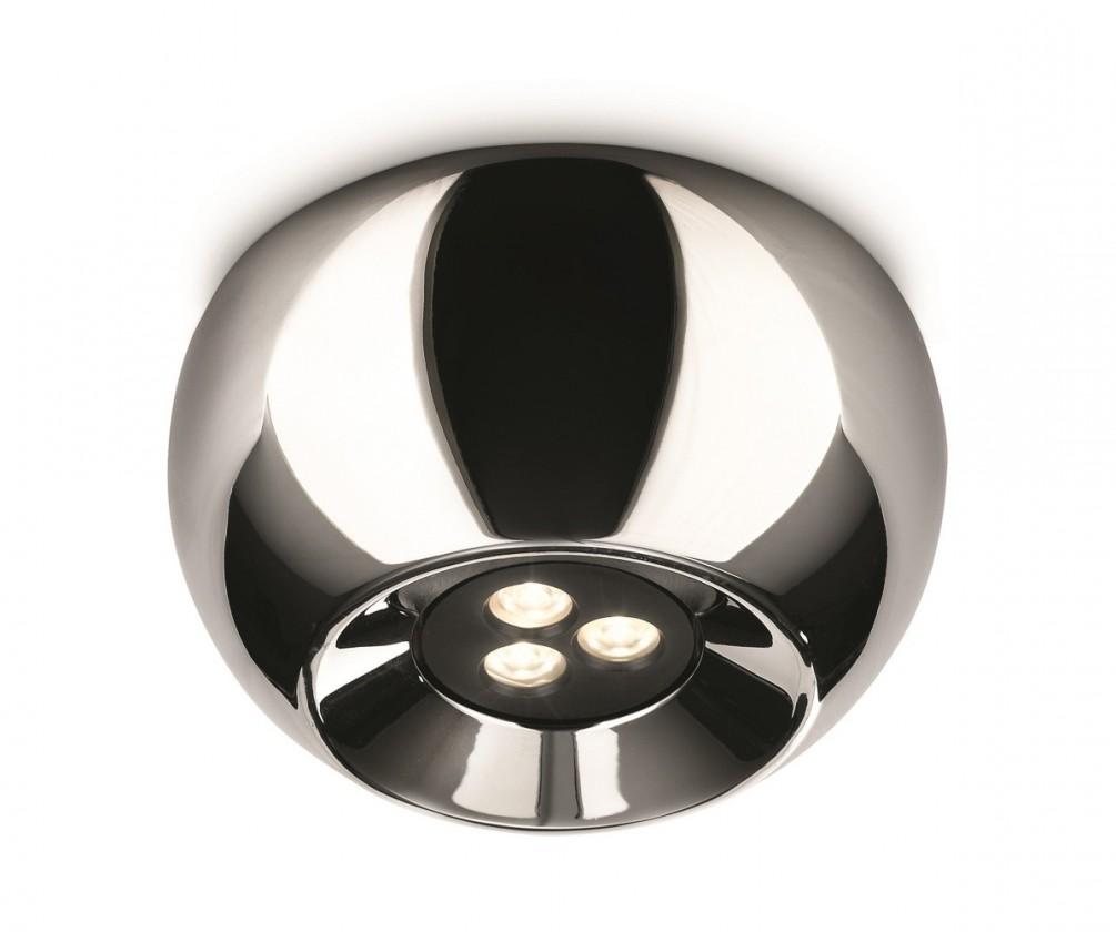 Mambo - Stropní osvětlení LED, 12cm (lesklý chrom)