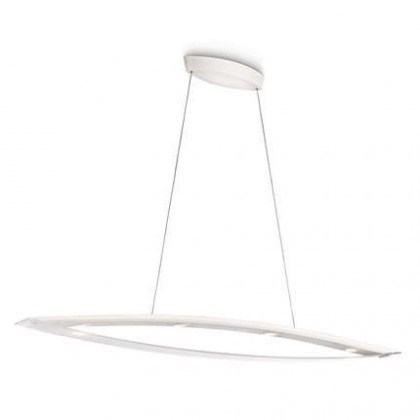 Mambo - Stropní osvětlení LED, 130,3cm (bíla)
