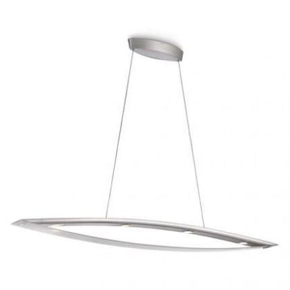 Mambo - Stropní osvětlení LED, 130,3cm (hliník)