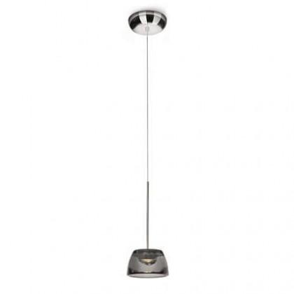 Mambo - Stropní osvětlení LED, 14cm (lesklý chrom)
