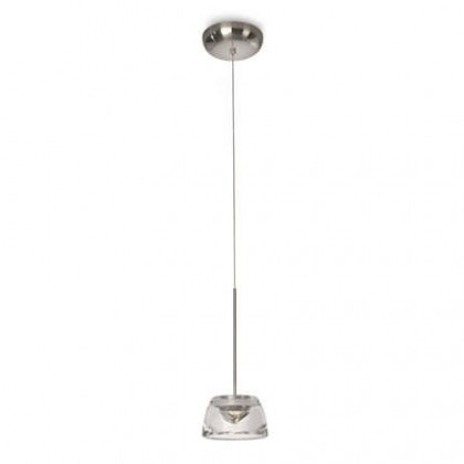 Mambo - Stropní osvětlení LED, 14cm (matný chrom)