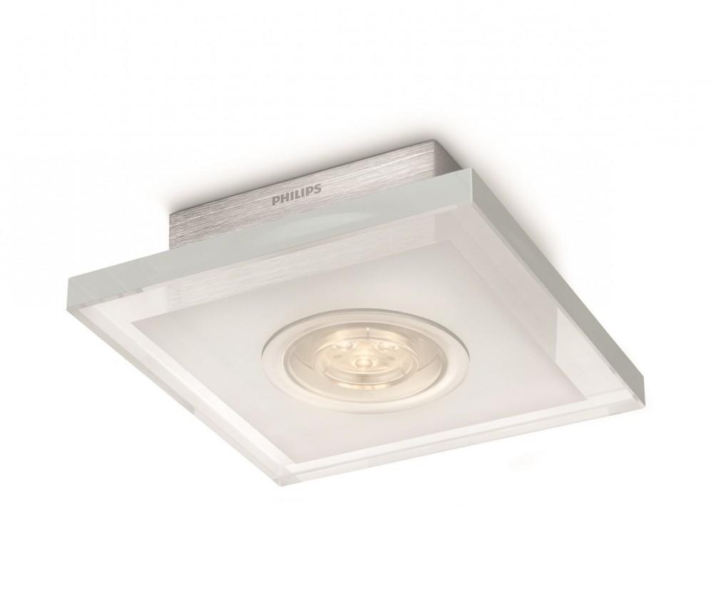 Mambo - Stropní osvětlení LED, 16cm (hliník)