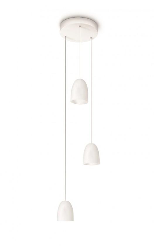 Mambo - Stropní osvětlení LED, 17,9cm (bílá)