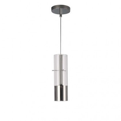 Mambo - Stropní osvětlení LED, 17cm (lesklý chrom)