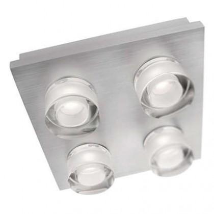 Mambo - Stropní osvětlení LED, 18cm (hliník)
