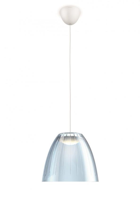 Mambo - Stropní osvětlení LED, 21,9cm (modrá)