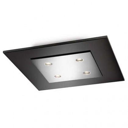 Mambo - Stropní osvětlení LED, 30cm (lesklý chrom)