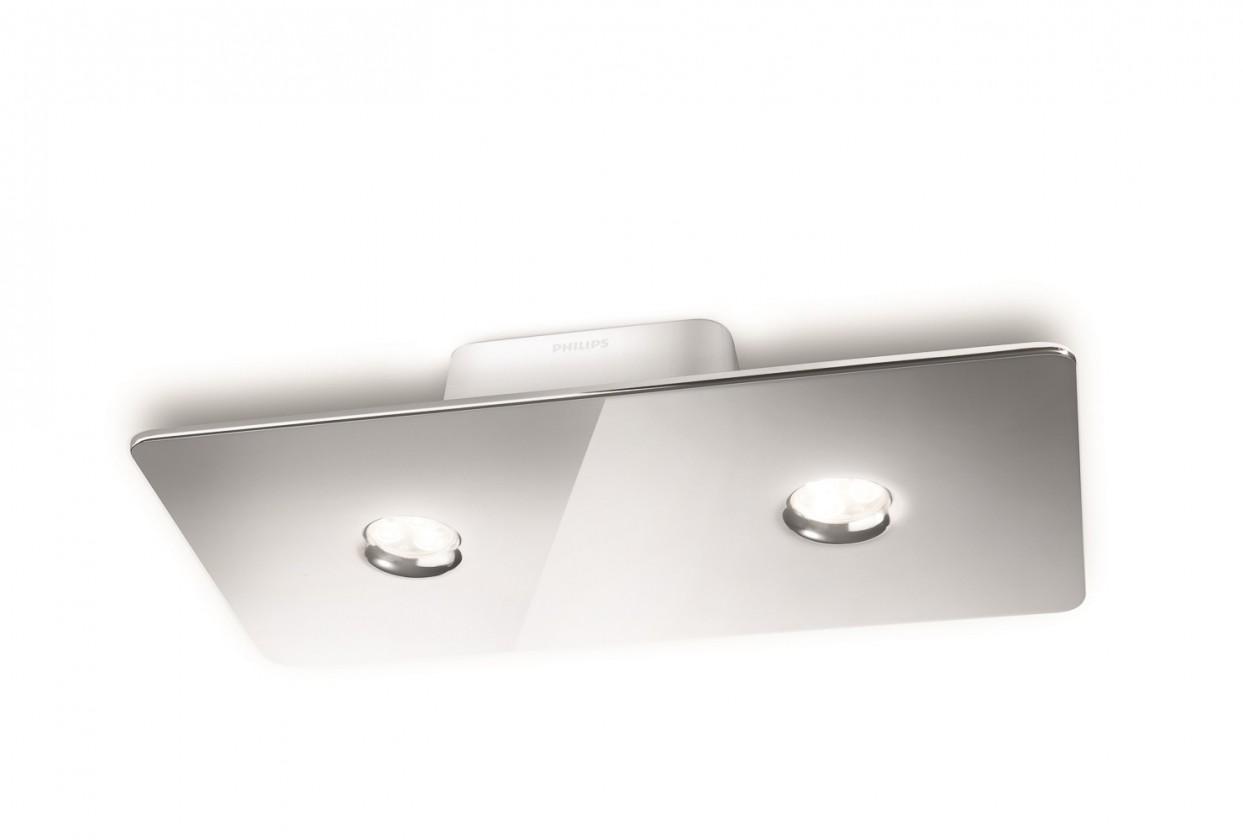 Mambo - Stropní osvětlení LED, 33cm (lesklý chrom)