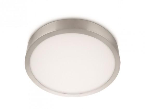 Mambo - Stropní osvětlení LED, 35,4cm (matný chrom)