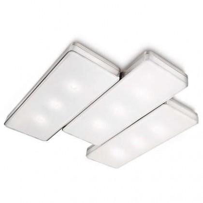 Mambo - Stropní osvětlení LED, 37cm (matný chrom)