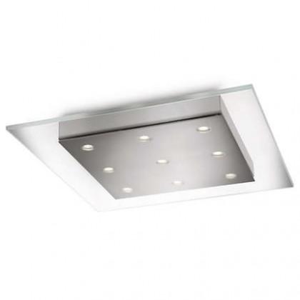 Mambo - Stropní osvětlení LED, 38cm (matný chrom)