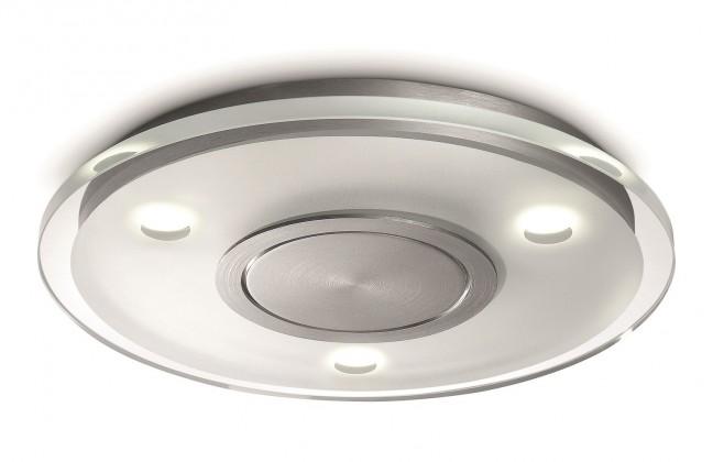 Mambo - Stropní osvětlení LED, 40cm (hliník)