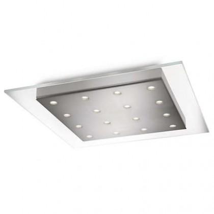 Mambo - Stropní osvětlení LED, 46cm (matný chrom)