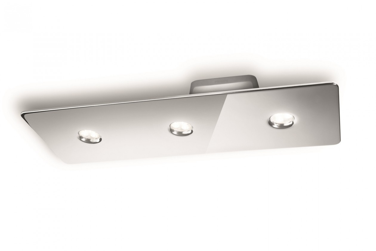 Mambo - Stropní osvětlení LED, 49cm (lesklý chrom)