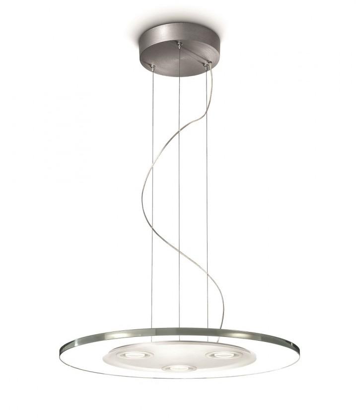 Mambo - Stropní osvětlení LED, 50cm (hliník)