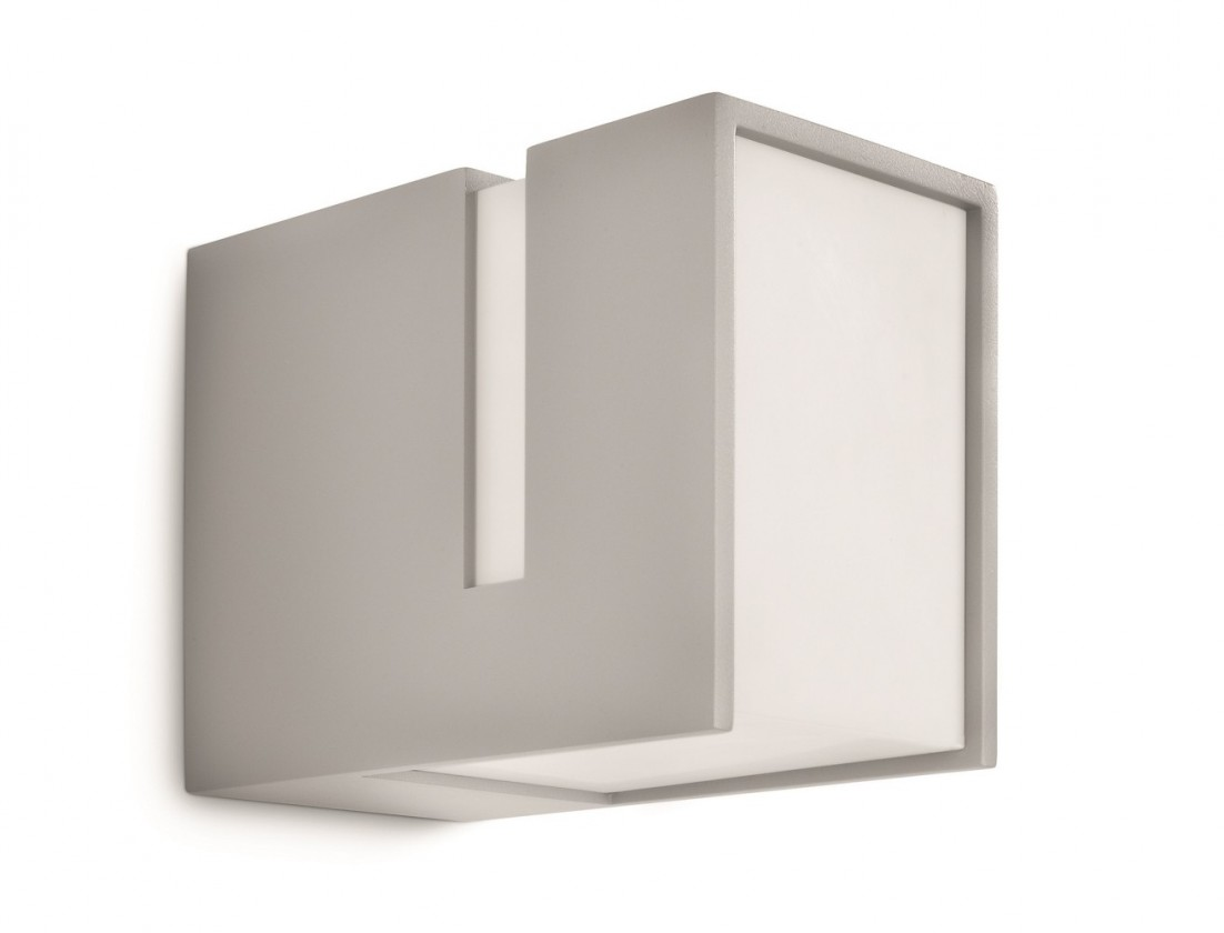 Mano - Venkovní osvětlení E 27, 10,1cm (šedá)