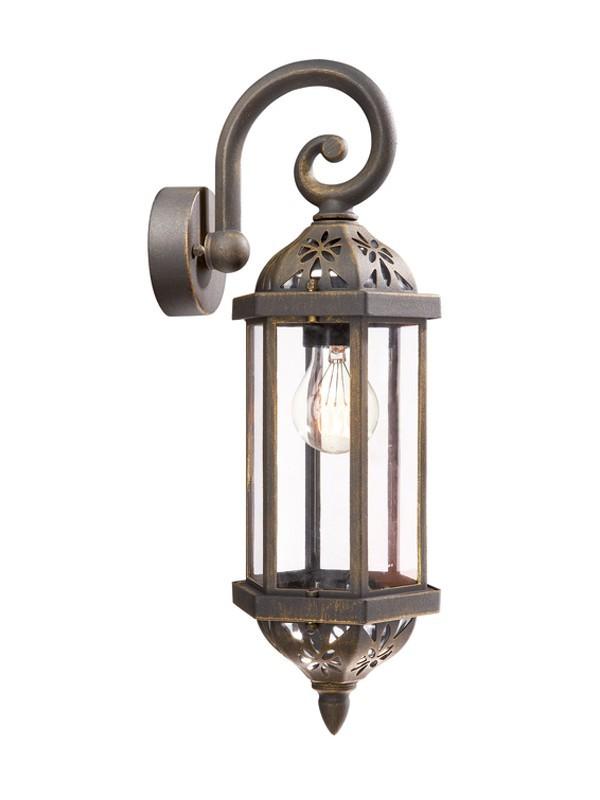 Mano - Venkovní osvětlení E 27, 12,3cm (rezavá)