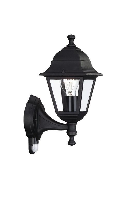 Mano - Venkovní osvětlení E 27, 15x37,5x15 (černá)
