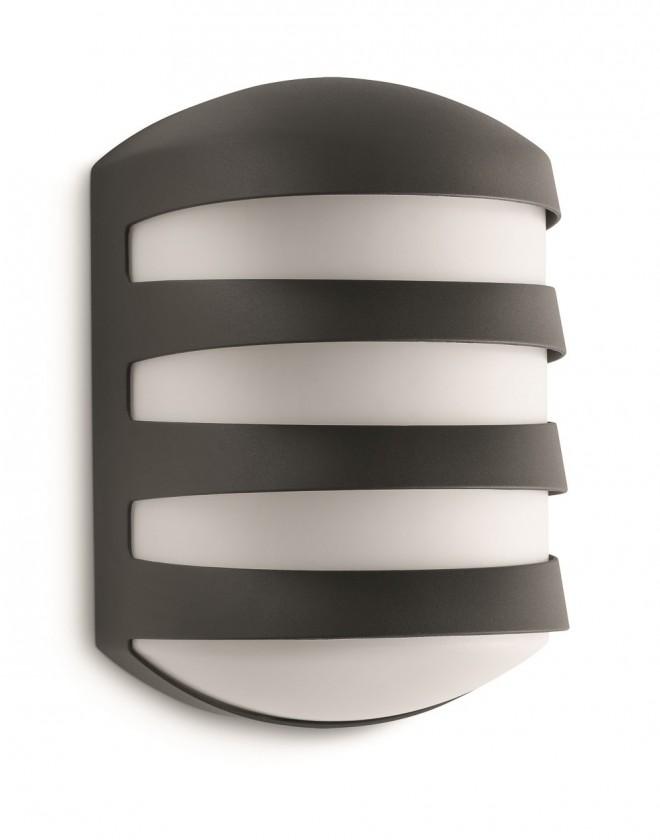 Mano - Venkovní osvětlení E 27, 16,9x25,3x15 (antracit šedá)
