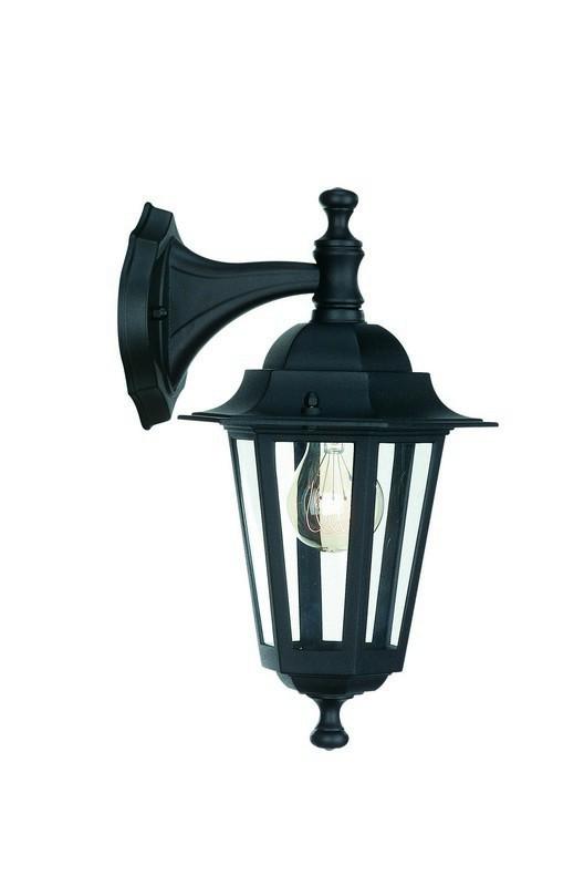 Mano - Venkovní osvětlení E 27, 17,5cm (černá)