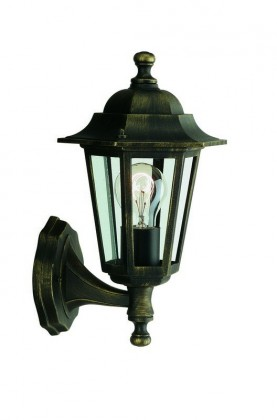 Mano - Venkovní osvětlení E 27, 17,5x34,6x17,5 (bronzová patina)