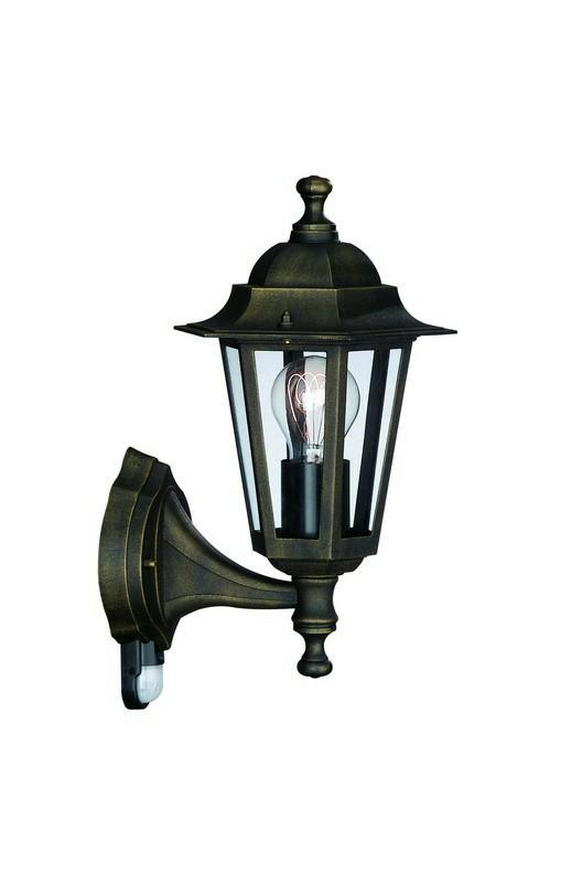 Mano - Venkovní osvětlení E 27, 17,5x37x17,5 (bronzová patina)