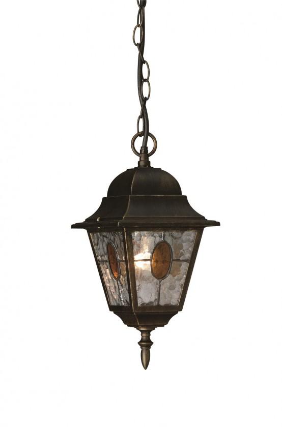 Mano - Venkovní osvětlení E 27, 18cm (bronzová patina)